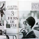 Claudia Cardinale - Jours de France Magazine Pictorial [France] (16 March 1963) - 454 x 330