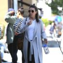 Evangeline Lilly out in Hollywood