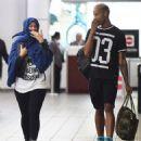 Amber Rose at JFK Airport in New York City - May 16, 2015