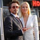 Robert Downey Jr. and Gwyneth Paltrow -