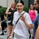 Jessie J is spotted out and about on September 4, 2015 in New York City