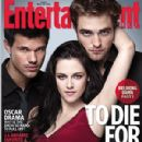 Robert Pattinson, Kristen Stewart and Taylor Lautner All Over EW Cover November 18, 2011