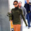 Victoria Beckham at JFK Airport in NYC - 454 x 755