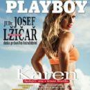 Karen Kounrouzan - Playboy Magazine Cover [Czech Republic] (October 2013)