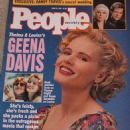 Geena Davis - People Magazine Cover [United States] (24 June 1991)