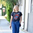 Chloe Moretz goes to a meeting in Beverly Hills