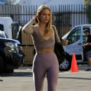 Sailor Brinkley Cook – Heading to the 'Dancing With The Stars' studio in Los Angeles