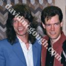 Mick Jagger and Randy Travis