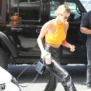 Hailey Baldwin – Steps out for business meeting in Los Angeles