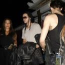 Tom and Bill Kaulitz leaving the Aerosmith concert afterparty at Pink Taco in LA (August 6) - 454 x 681