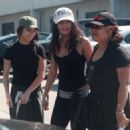 Vanessa Hudgens Lunch with her mother and sister in Studio City, CA March 3, 2011