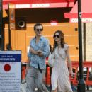 Keira Knightley And Boyfriend Take A Stroll In London 2007-09-16