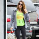 Ashley Greene Heads To The Gym In West Hollywood