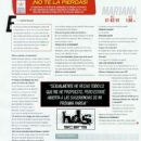 Mariana Echeverria - Hombre Magazine Pictorial [Mexico] (November 2011) - 454 x 604