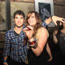 Mia Swier and Darren Criss