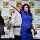 Actress Daniela Ruah attends CBS Television Studios Block including