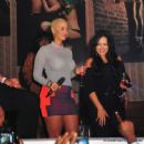 Amber Rose Partying at Club Roxy in Orlando, Florida - February 25, 2012 - 454 x 448