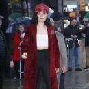Jessie J – Outside of Good Morning America in New York - 454 x 733