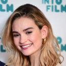Lily James – Into Film Award 2019 at Odeon Luxe Leicester Square in London 04/03/2019 - 454 x 624