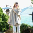 Hailey Bieber – Finish lunch for her 23rd birthday at Nobu in LA
