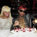 Tyga and Blac Chyna - November 19, 2011
