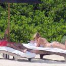 Kate Upton In A Bikini At A Beach In Mexico