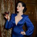 Dita Von Teese – Jenny Packham x Dita Von Teese Dinner in London