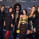 Zoe and Lenny Kravitz – Dom Perignon and Lenny Kravitz: 'Assemblage' Exhibition in NY