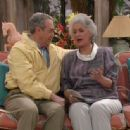 Bea Arthur and James Karen