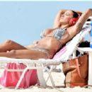 Jodie Marsh Wearing Bikini In Barbados