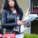 Blac Chyna Out in Calabasas, California - May 7, 2015 - 306 x 736