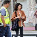 Sarah Hyland – Filming Scenes for 'The Wedding Year' in Los Angeles