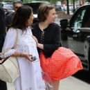 Lena Dunham is spotted outside her hotel in New York City, New York on June 6, 2016 - 451 x 600