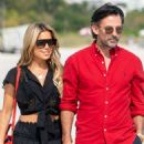 Sylvie Meis and her fiancee Nicals Castello – Out in Miami Beach