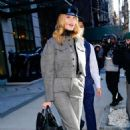 Rosie Huntington Whiteley – Leaves her hotel in NYC - 454 x 706