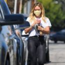 Hilary Duff picks up Starbucks in Malibu