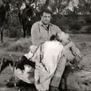 Robert with Susan Oliver on Wagon Train