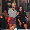 Amber Rose Partying at Club Roxy in Orlando, Florida - February 25, 2012 - 454 x 466