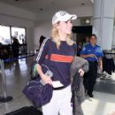 Suki Waterhouse – Arrives at LAX Airport in Los Angeles
