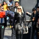 Christina Aguilera – Arrives at Jimmy Kimmel Live in Hollywood - 454 x 568