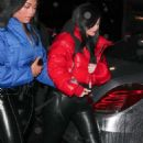 Kylie Jenner – Leaving Tristan Thompson's birthday celebration in LA