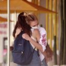 Cara Delevingne and Margaret Qualley – Have lunch in Studio City