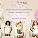 British Girl Band The Saturdays cover shoots