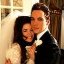 Jonathan Rhys Meyers and Antonia Bernath