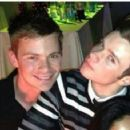 Chris Colfer and Will Sherrod