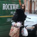 Famke Janssen – Shopping in NYC