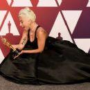 Lady Gaga At The 91st Annual Academy Awards - Press Room - 454 x 256