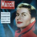 Ingrid Bergman - Paris Match Magazine Cover [France] (2 February 1957)