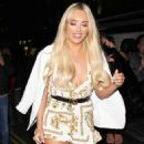 Amber Turner – Quiz x TOWIE Launch Party in London - 454 x 570