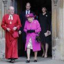 Prince Windsor and Kate Middleton Attend Easter Service At St George's Chapel, Windsor